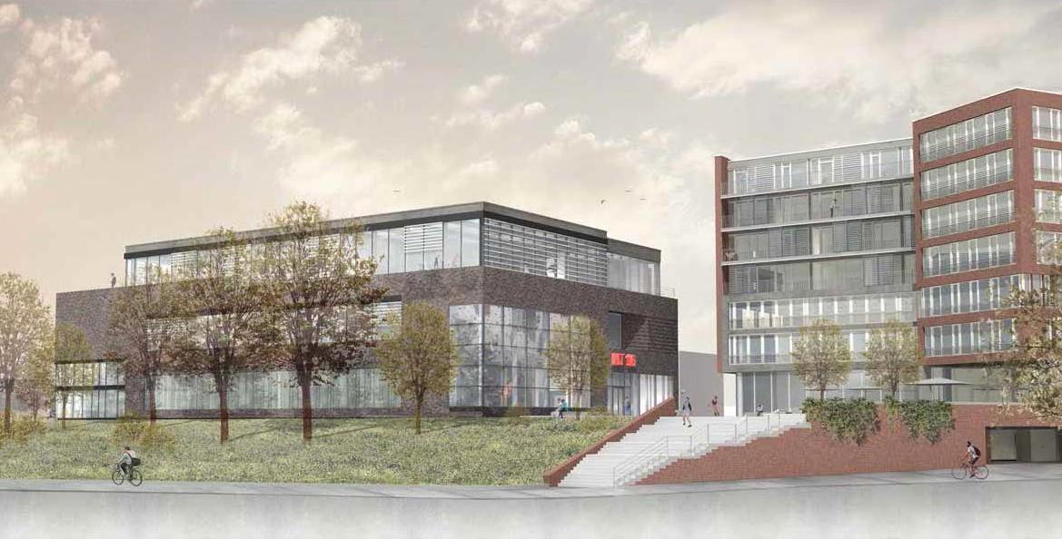 Neubau Sportzentrum